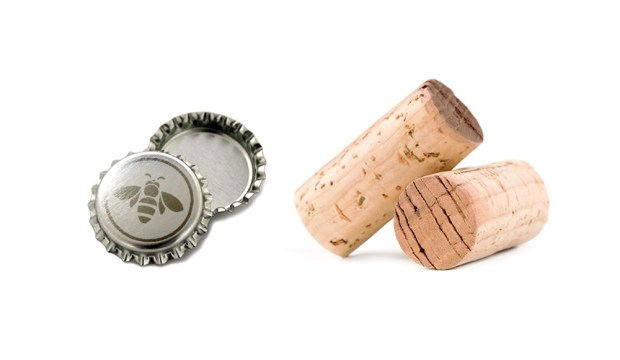 mead cap and cork