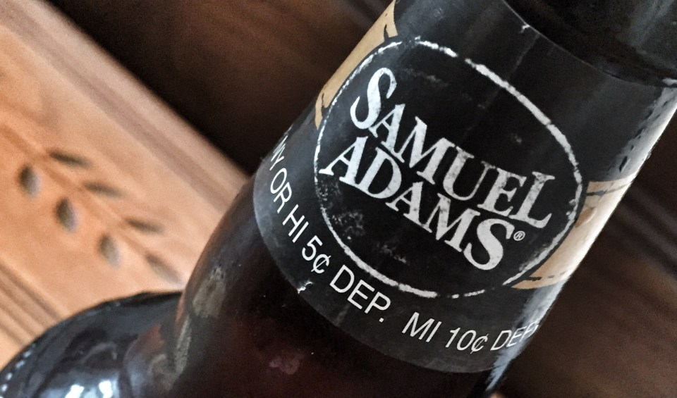 Sam Adams Honey Mead Beer