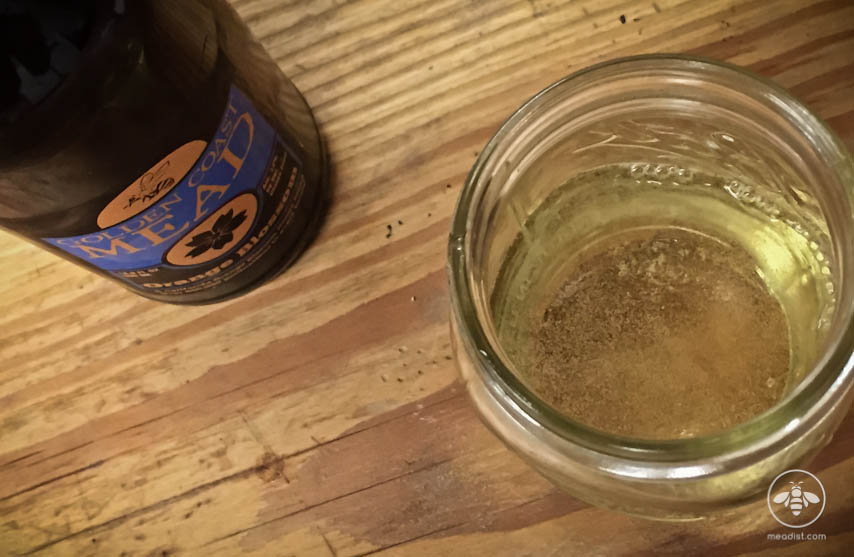 Golden coast carbonated mead