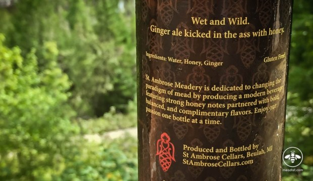 wild ginger honey mead