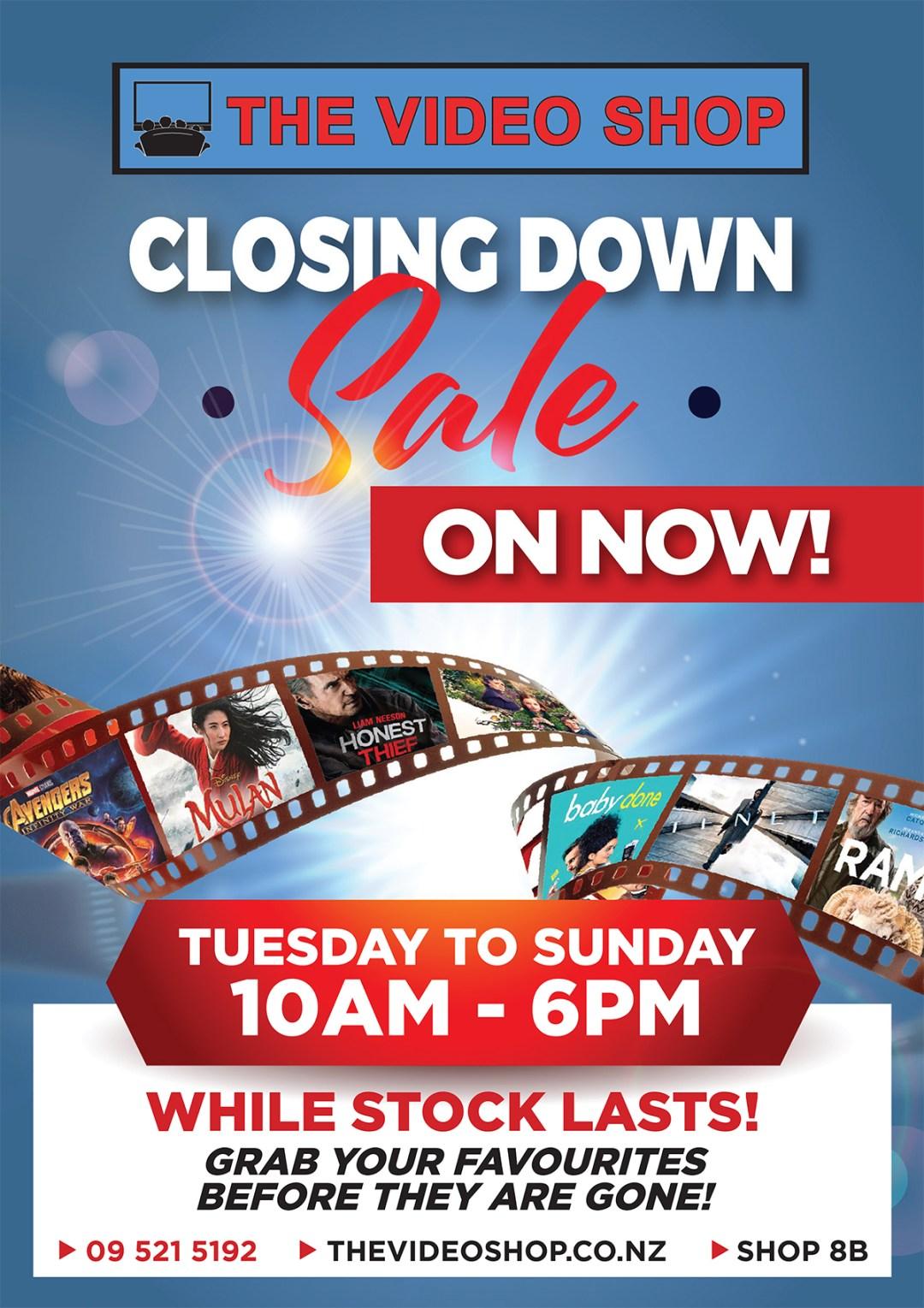 The Video Shop SALE