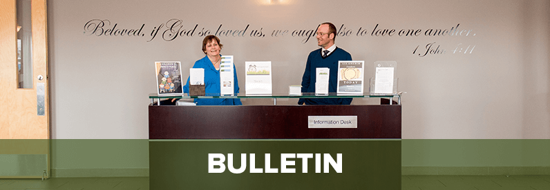 Bulletin for January 29, 2016