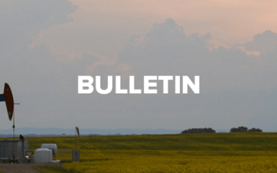 Bulletin for May 27, 2018