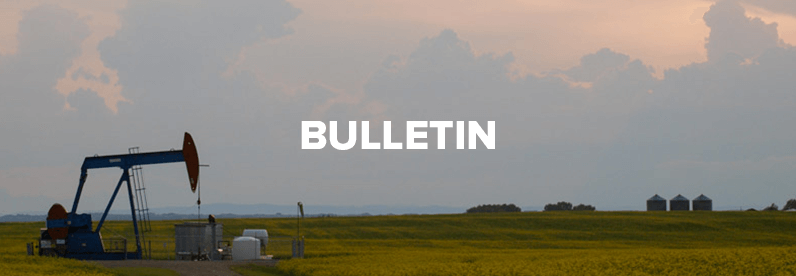 Bulletin for September 16, 2018
