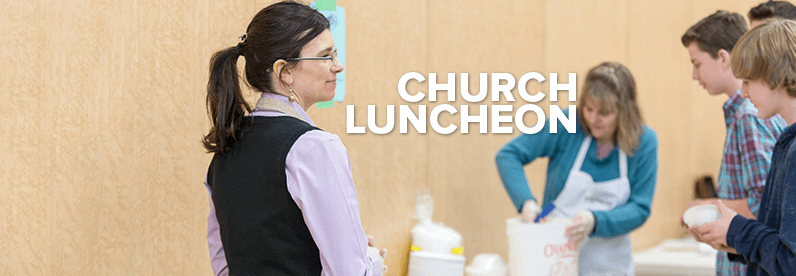 November All-Church Luncheon