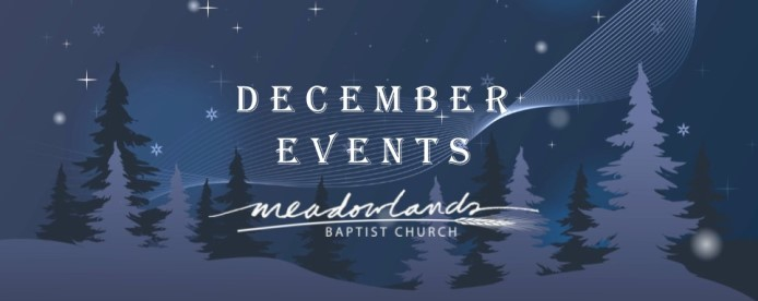 December Happenings at Meadowlands