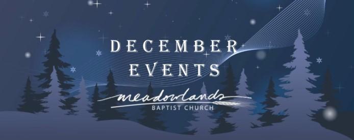 December Happenings at Meadowlands