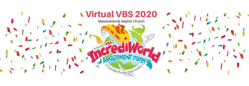 Meadowlands Virtual VBS Update