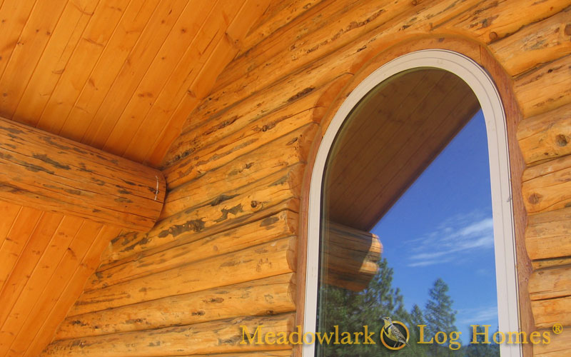 1 Plans Cabin Loft Floor Bedroom 2 Log