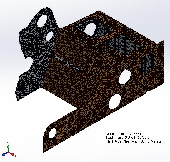 Case mesh 1
