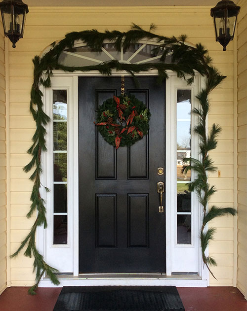 Christmas Front Porch Package