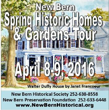 New Bern Spring Historic Homes and Gardens Tours