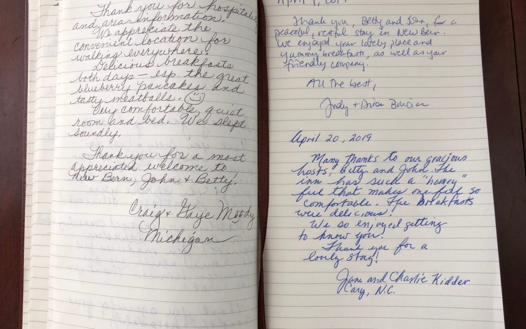 Room Journal Notes