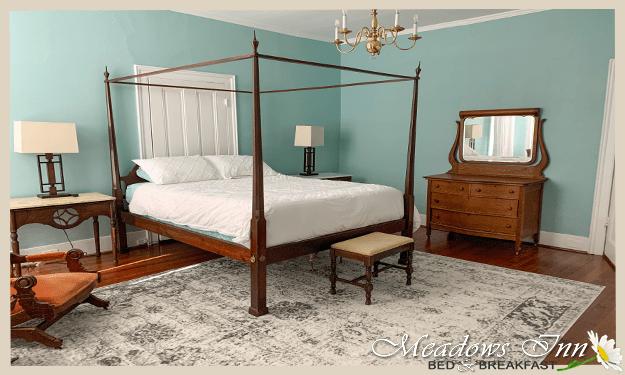 Meadows Inn New Bern NC, Monet's Room