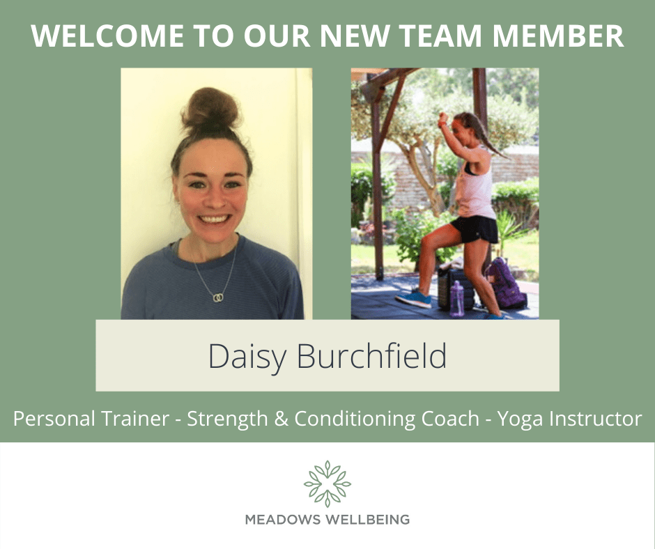 A WARM WELCOME TO DAISY BURCHFIELD