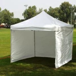 Self Installed Canopy Tent Rentals Available.