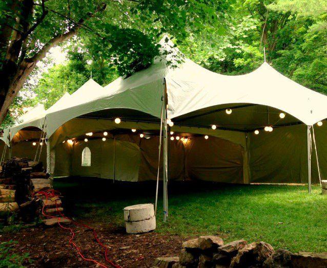 Party Rentals Including Tent Rentals.