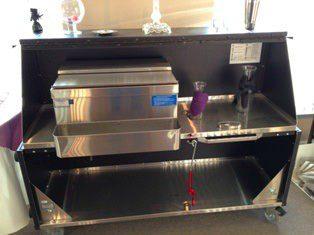 Event equipment rentals - portable bar