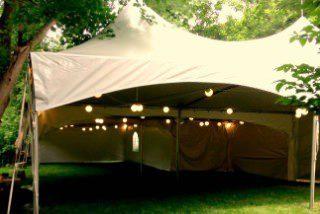 set up tent rentals Brampton backyard