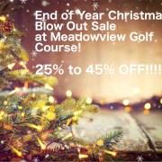 Meadowview Golf Christmas Sale