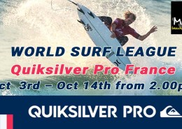 WORLD SURF LEAGUE Quiksilver Pro France Live Meads Beach Bar & Grill Bali