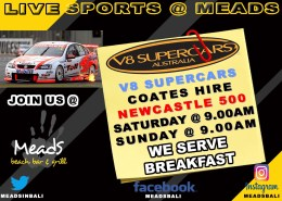 MEADS IN BALI LIVE SPORTS V8 SUPERCARS