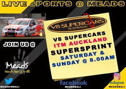 Meads in Bali Sports Schedule V8 SUPERCARS