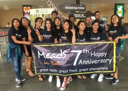 Meads in Bali 7th Anniversary Staff Celebration