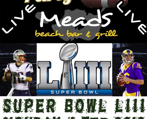 Meads Beach Bar Grill Bali Super Bowl LIII Party