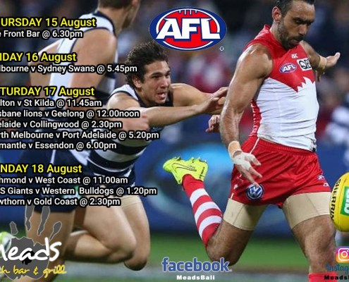 Meads in Bali Sports AFL