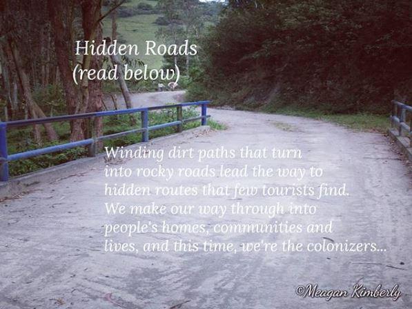hidden roads blog poetry