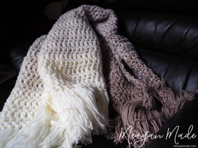 Nature S Neutral Crochet Throw Meagan Made