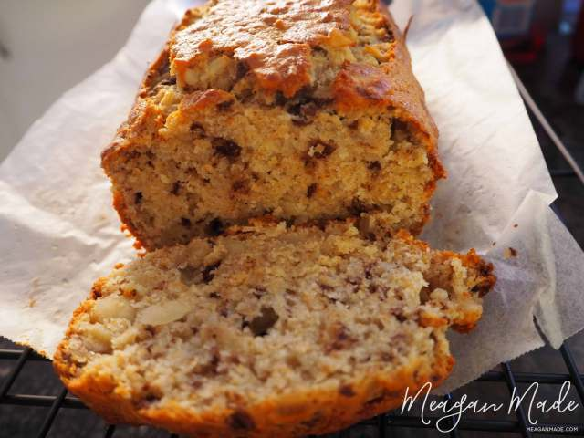 Chocolate Banana Bread | MeaganMade.com