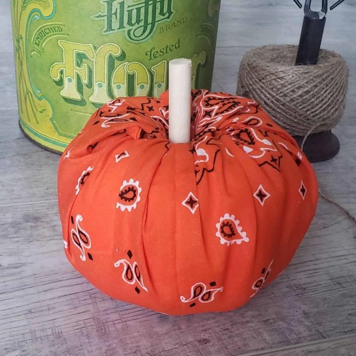Foam Pumpkin DIYs from Dollar Tree