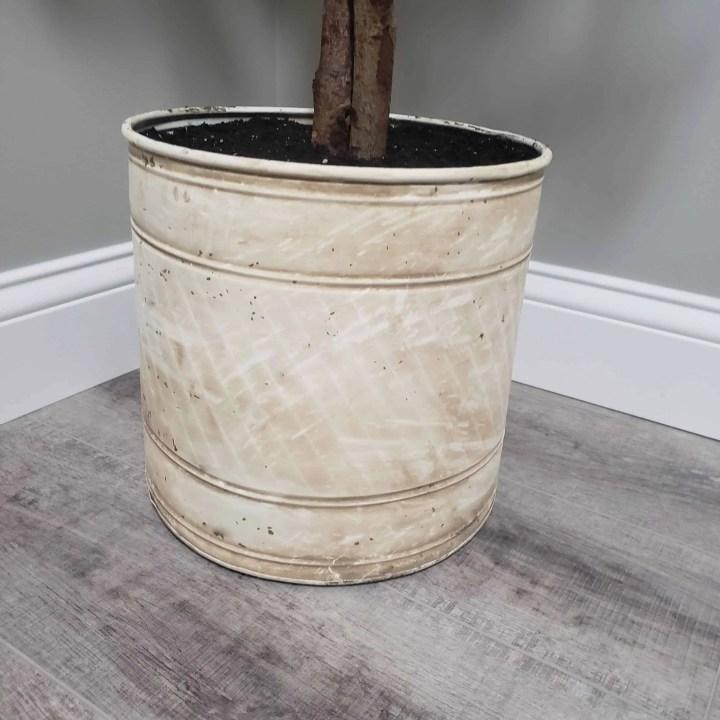 Mud Painting: My Planter Makeover