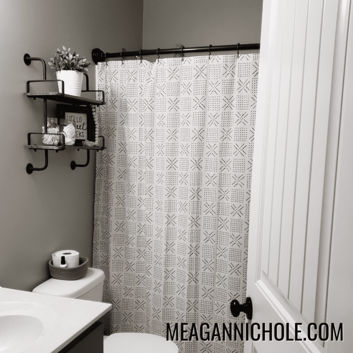 Photo of a bathroom for a how to Decorate your Bathroom blog post