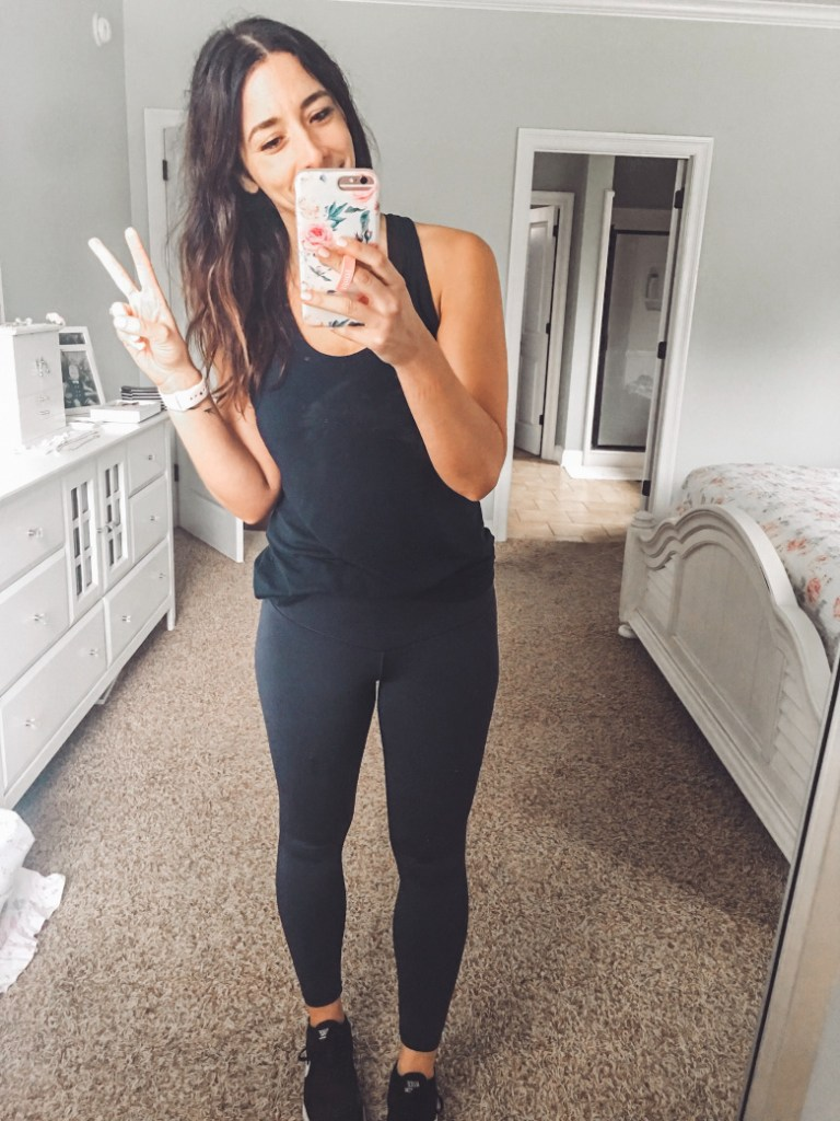 68787caca43e8 These workout leggings are really good! They are uber lightweight, and  don't slip or slide. I have them in three colors, and only found sweat to  show ...