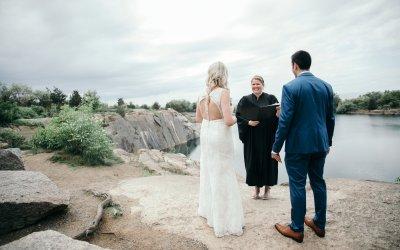 francesca + alex // rockport wedding