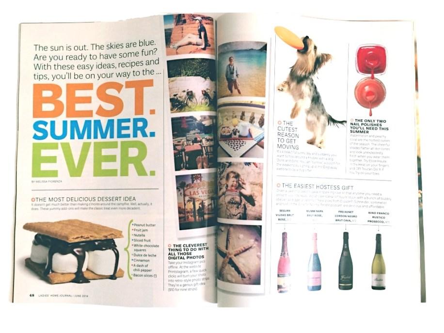 Ladies' Home Journal Magazine, June 2014.