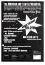 Radio Tuesday at Kiasma Museum, Helsinki flyer, 2000