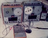 Tape Recording set up for mixing and dubbing
