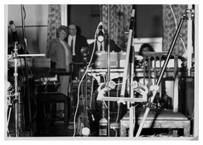 A barrage of microphones - church recording