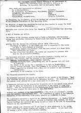 Minutes of the 19th General Council meeting of the Association of Midland Tape Recording Clubs, 1967 page 1