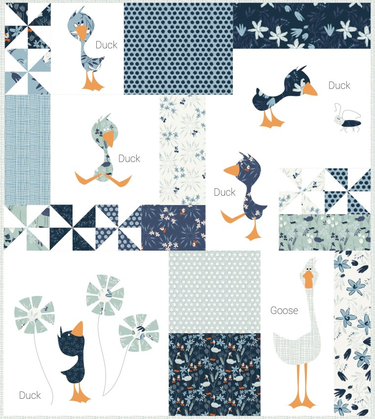 duck duck goose mini by meags and me