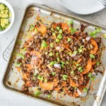 Prep Ahead Sweet Potato Nachos