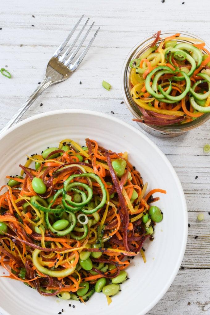 Asian Inspired Carrot Slaw