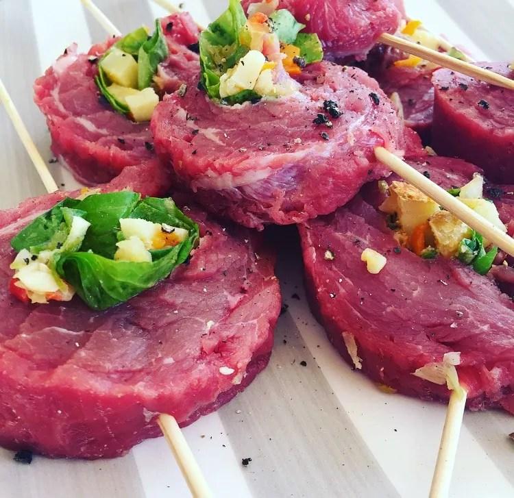 Texas Salad Rolls