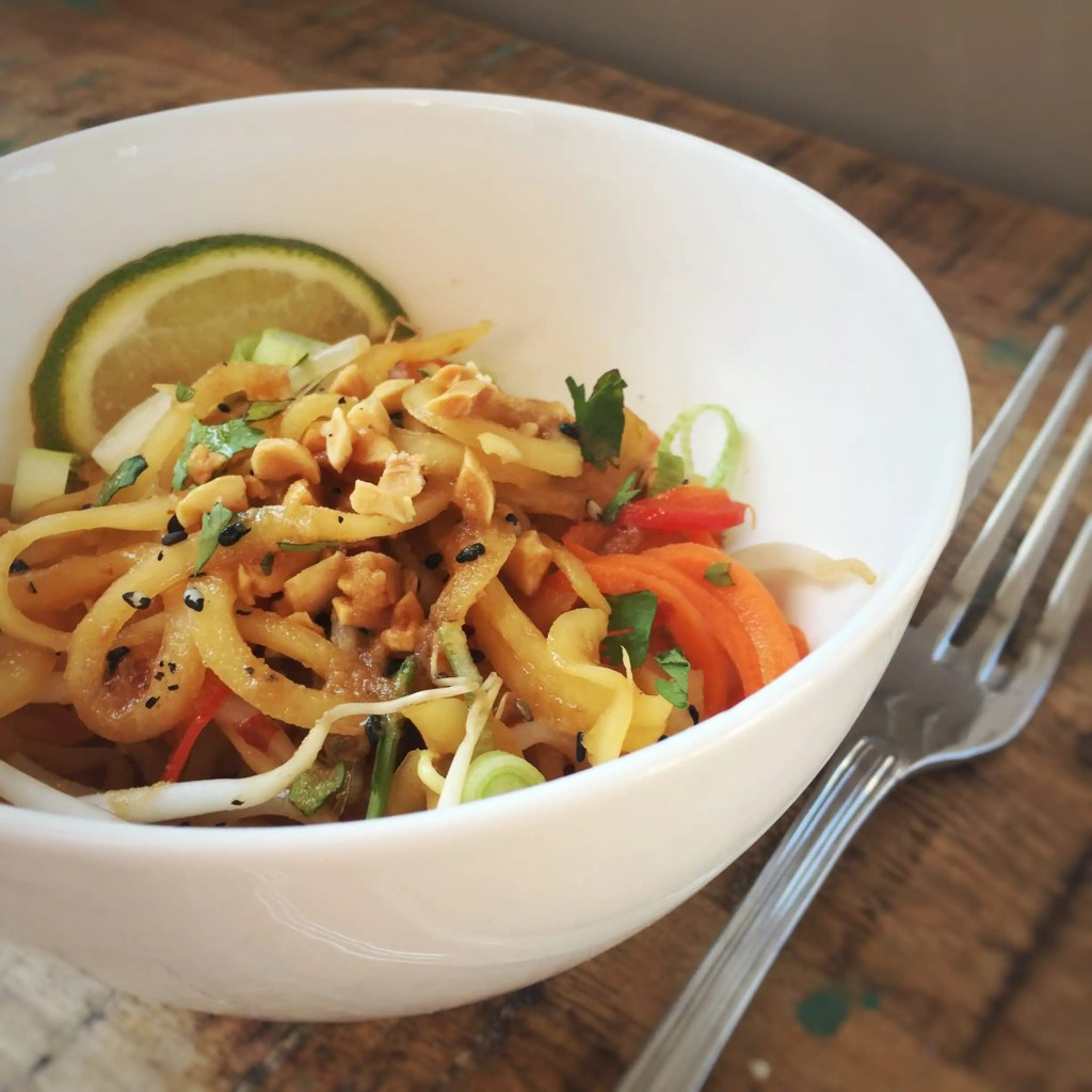 Low Carb Spiralized Pad Thai