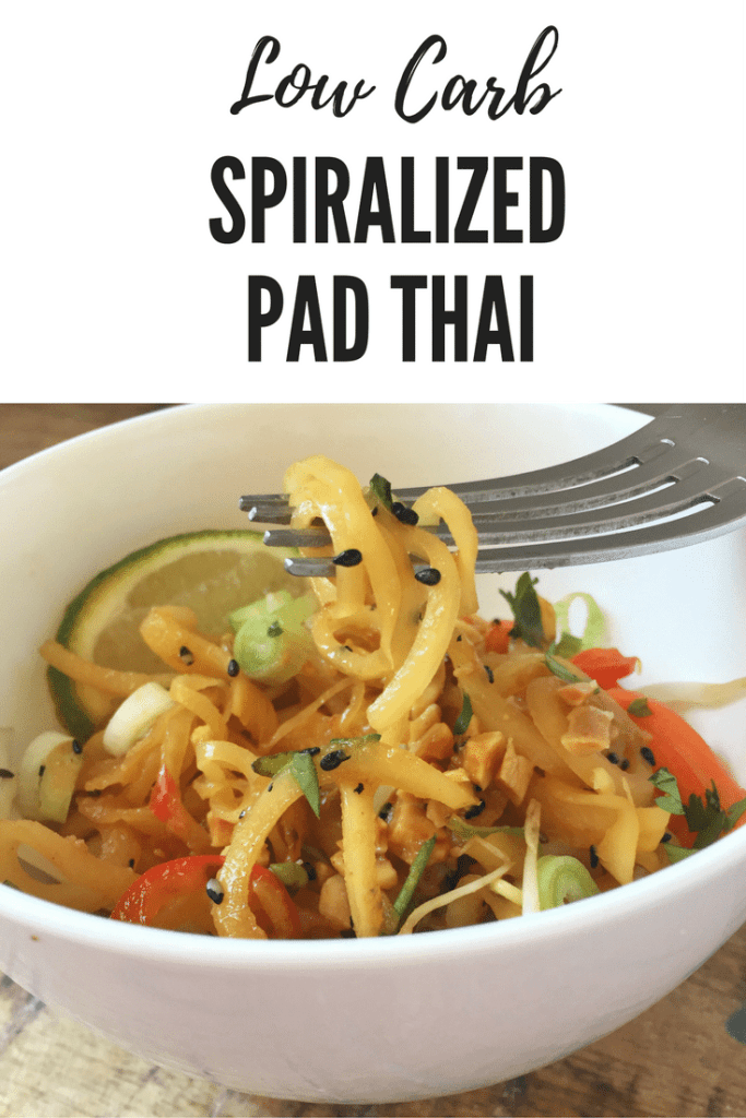 Spiralized Pad Thai Pin