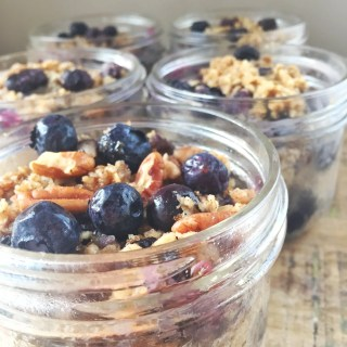 Blueberry Oatmeal Bake | TO GO |